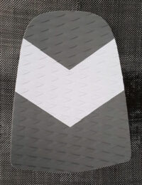 GREY and WHITE Rear Pad