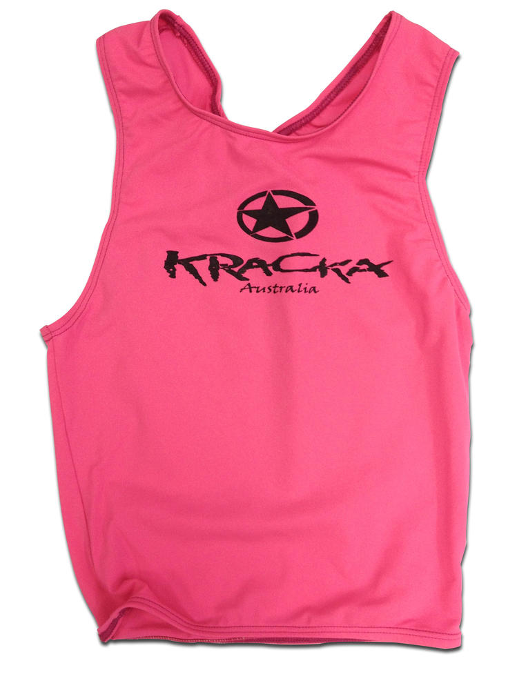 Hi Vis Pink Training Singlet