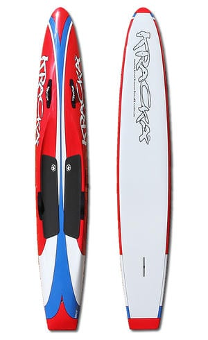 Red Blue Flow Paddleboard
