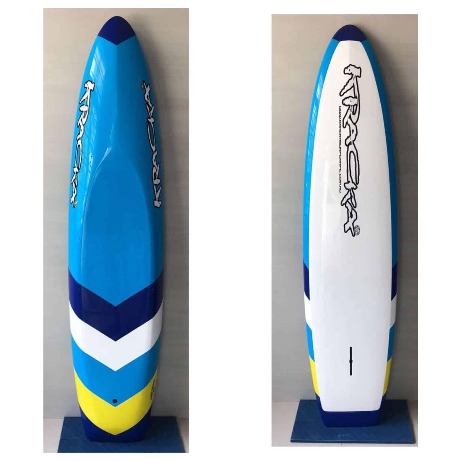 blue/yellow Arrow -