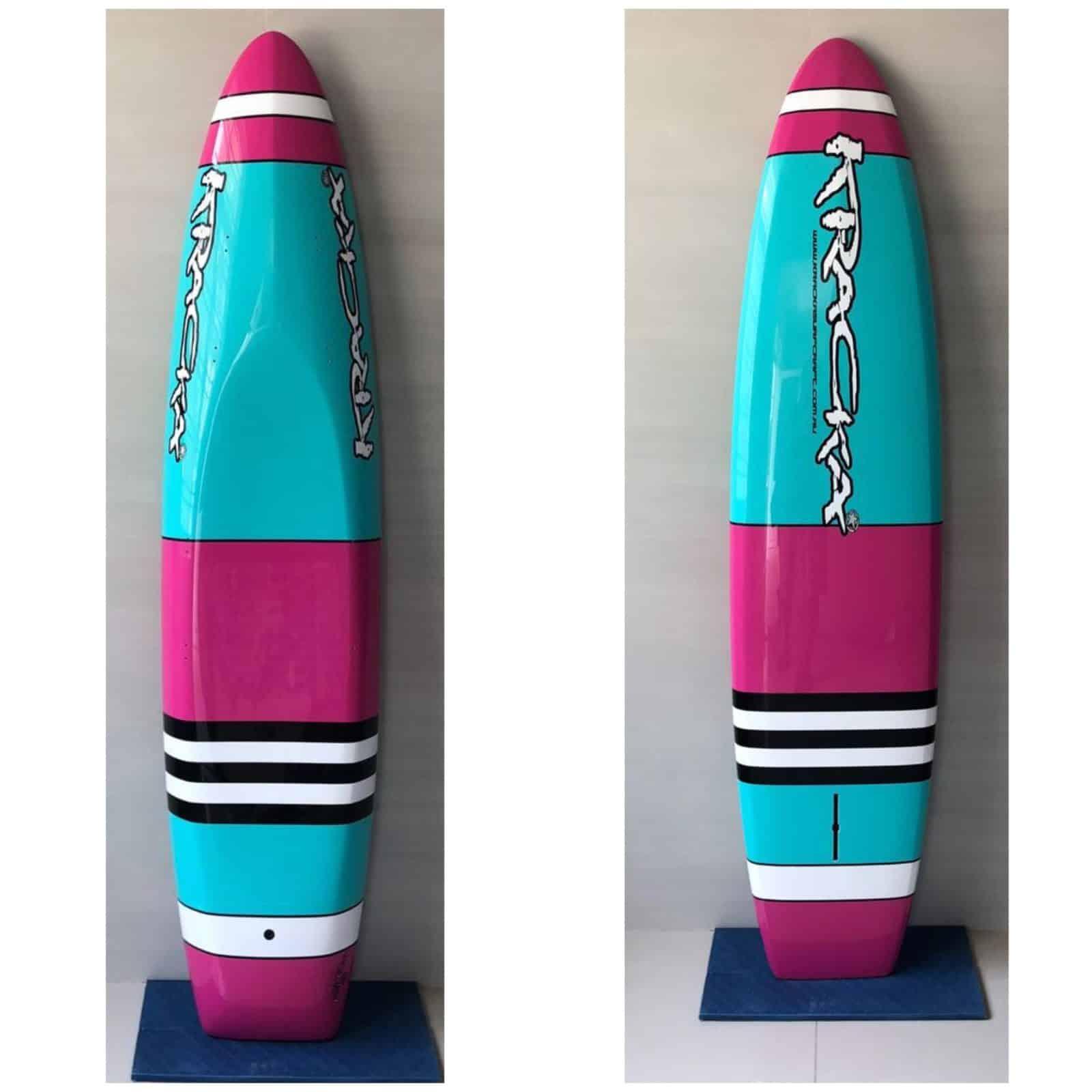 Pink/Aqua Strips -