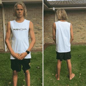 White Muscle Shirt -