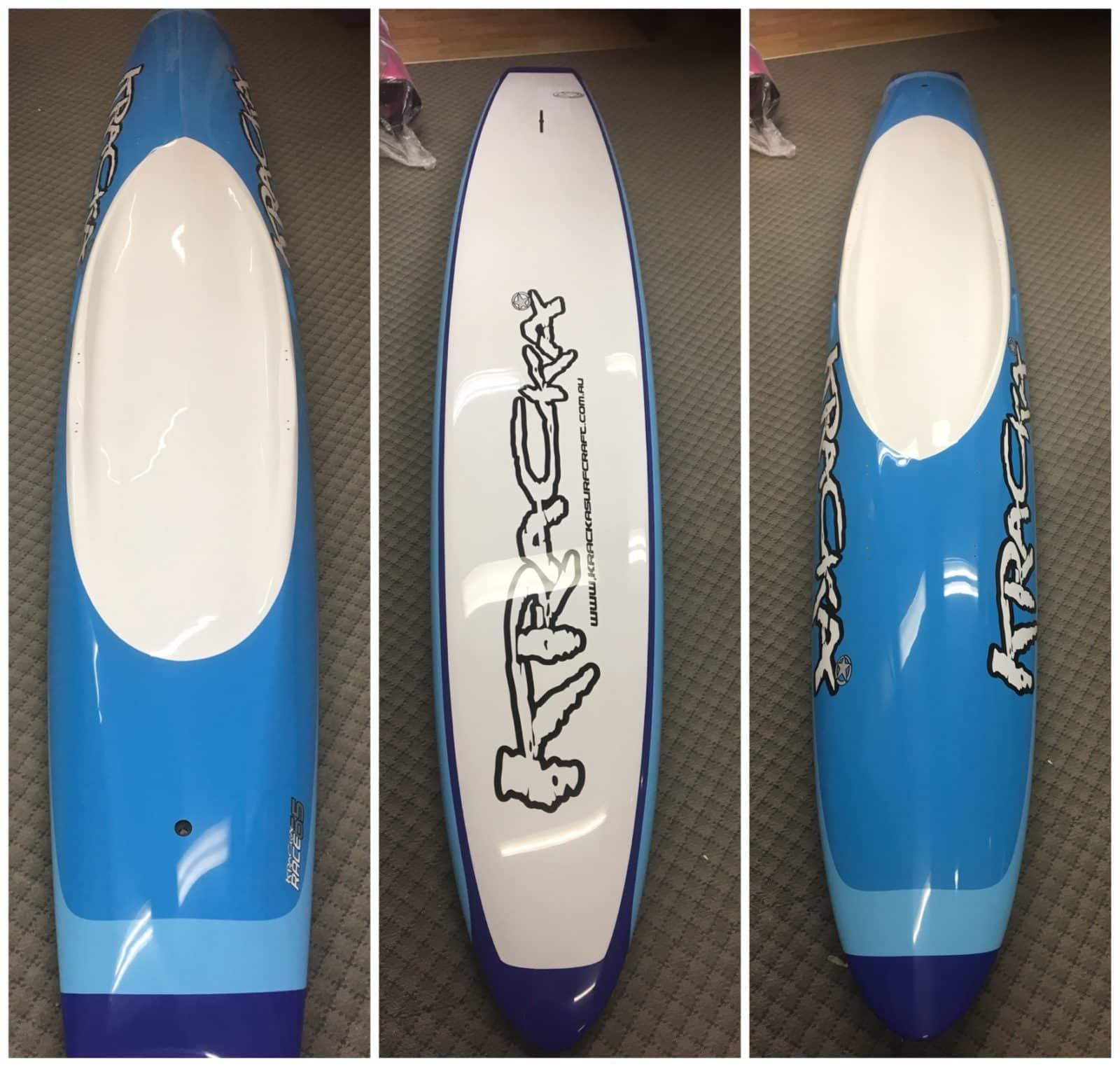 Blue Oval Paddleboard -
