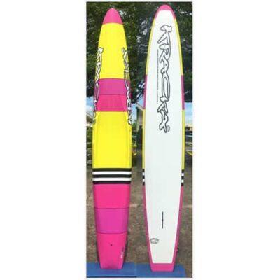 Pink/Yellow Stripes Paddleboard -