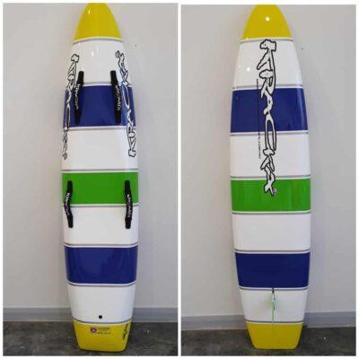 Blue White Green Stripe -