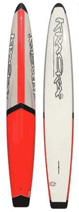 Red / Grey Middle Arrow Paddleboard -