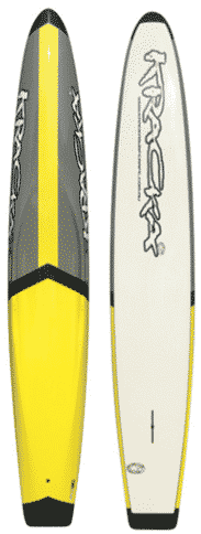 Yellow / Grey Middle Arrow Paddleboard -