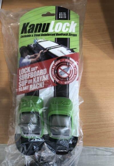 Kanu Lockable Roof Straps -